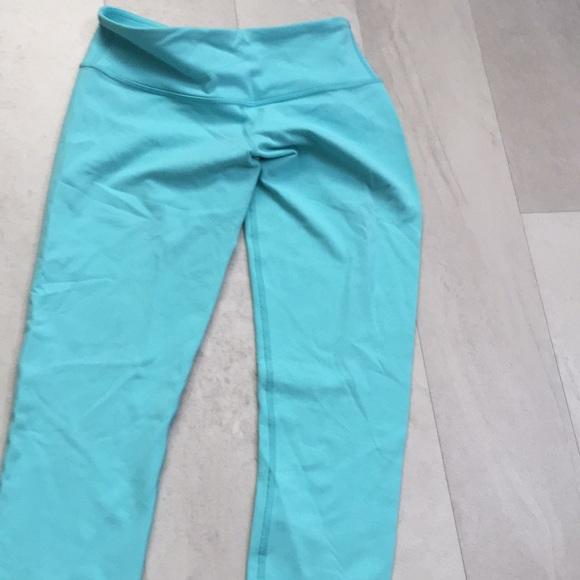 lululemon athletica Pants - Lululemon SIZE 8 Teal Leggings LIMITED EDITION